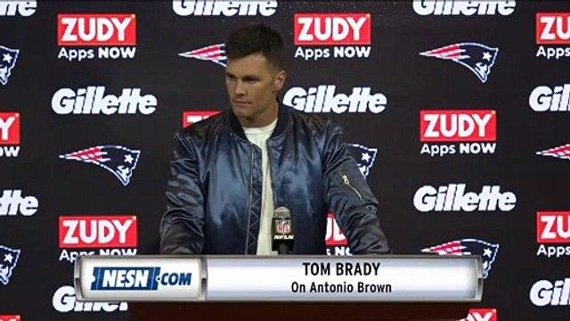 Tom Brady 'A Million Percent In' On Antonio Brown On Patriots