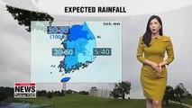 Autumn monsoon rain to soak most of Korea 090919