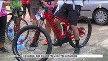 Rando cycliste mobilisation contre le suicide