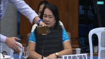 Witness Yolanda Camilon plays alleged audio recording of 'GCTA for sale' in action