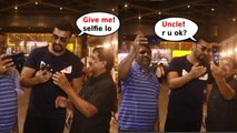 Hilarious ! ARJUN KAPOOR Funny ACT with FAN who was NERVOUS to take SELFIE with MALAIKA ARORA's BF