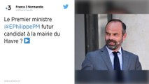 Municipales : Édouard Philippe exclut d'être candidat à Paris... mais pas au Havre.