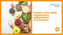 France : des repas végétariens obligatoires à la cantine
