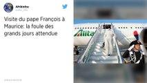Le pape est arrivé à Maurice, dernière étape de sa tournée africaine.