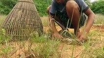 Build Deep Hole Underground Python Snake Trap Using Bamboo - PVC That Work 100%