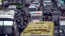 Patients die as Manila traffic jams block ambulances