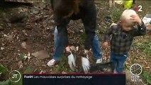 Opération de nettoyage dans l'Yonne : les habitants s'impliquent