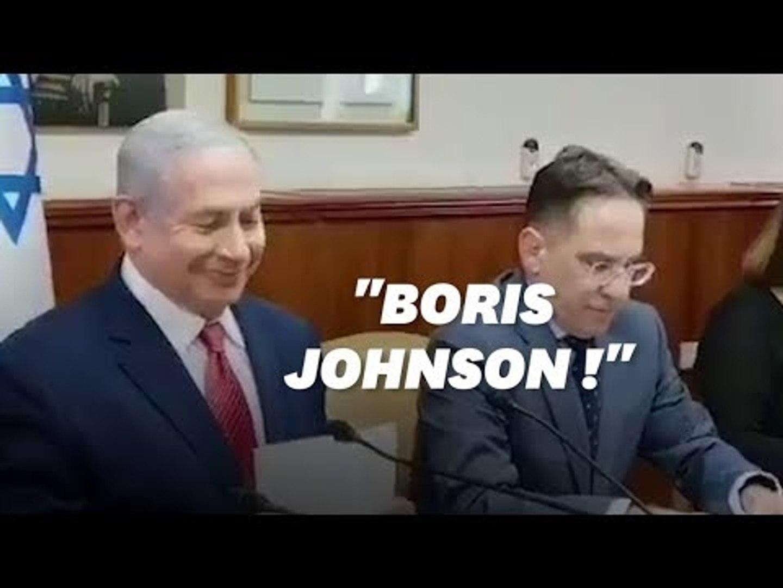 Benjamin Netanyahu confond Boris Johnson et Boris Eltsine