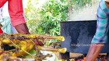 MUTTON BIRYANI - 2 FULL GOAT Biryani recipe cooking and eating in village - Arabic Full Goat Cooking
