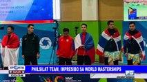 PhilSilat team, impresibo sa World Masterships