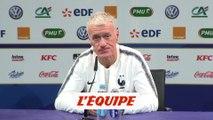 Deschamps «Lenglet dégage beaucoup d'assurance» - Foot - Qualif. Euro - Bleus