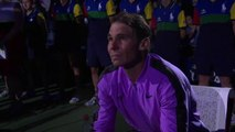Tennis - Tears and all the emotion of Rafael Nadal when he sees his 19 Grand Slams scroll