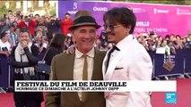Johnny Depp honoré au Festival du film de Deauville