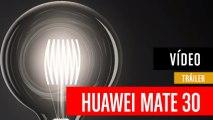 Teaser tráiler de la cámara del Huawei Mate 30