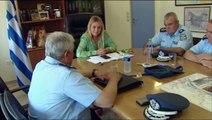 Στο δήμο Λεβαδέων και στην Περιφερειακή Ενότητα Βοιωτίας ο Γενικός Αστυνομικός Διευθυντής