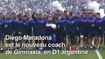 Maradona de retour sur un banc d'entraîneur en Argentine