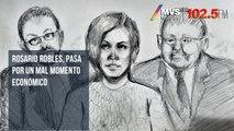 Rosario Robles, pasa por un mal momento económico: abogado