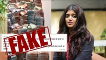 Fake news: No, I-T officials didn't find stacks of cash at DK Shivakumar's house