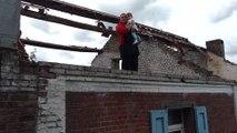 Wasmes. Deborah et ses enfants n'ont plus de toit. Vidéo Eric GHISLAIN