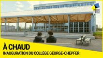 Inauguration du collège George-Chepfer à Villers-lès-Nancy