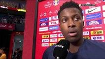 Frank Ntilikina frustré après la défaite contre l'Australie
