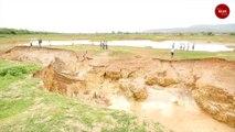 The mysterious sinkholes of Kadapa