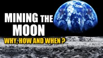 Why is there a race to build a base on the moon?