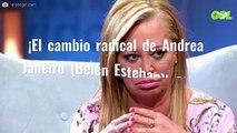 ¡El cambio radical de Andrea Janeiro (Belén Esteban)! Ojo al antes y al después