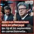 Nicole Belloubet répond à Jean-Luc Mélenchon qui dénonce des «procès politiques»