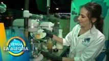¡Crea junto con Olga Mariana el sabor que quieras para tu helado! ¡Está increíble!  Venga La Alegría