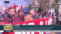 Diputado chileno rechaza declaraciones de Bolsonaro sobre la dictadura