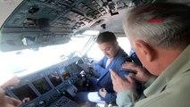 Tarım ve orman bakanı pakdemirli rusya'da yangın söndürme uçağını kullandı-ek