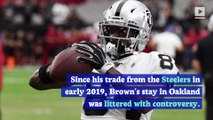 Antonio Brown Lands With Patriots After Raiders Release