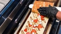 A restaurant in Miami makes sweet crepes that are 3 feet long