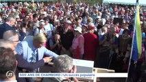 500 ans de Chambord :  Un succès populaire