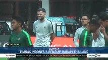 Timnas Indonesia Bersiap Hadapi Thailand