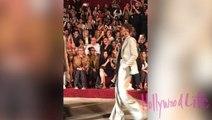 Ashley Graham Shows Baby Bump During NYFW Walk