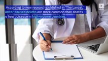 Cancer Is Now the Leading Cause of Death in Several Countries