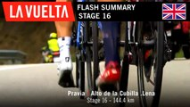 Flash Summary - Stage 16 | La Vuelta 19