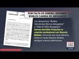 ¿Por qué se quedó Rosario Robles sin abogados? | Noticias con Ciro Gómez Leyva