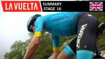 Summary - Stage 16 | La Vuelta 19