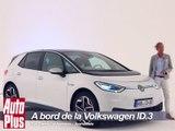 A bord de la nouvelle Volkswagen ID.3 (2019)