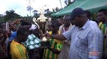 Football   Le point de la finale du tournoi Dominique Ouattara à Gueyo