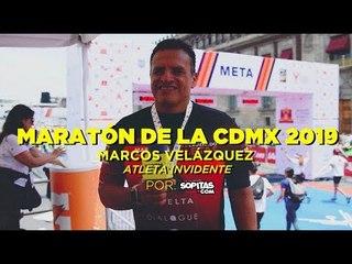 Marcos Velázquez, atleta mexicano invidente nos cuenta su historia
