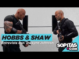HOBS & SHAW - Dwayne Johnson: salvar al mundo, Rápidos y Furiosos y cheat meal