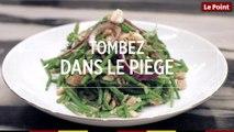 Tombez dans le Piège #90 : la salade de cabillaud et haricots verts