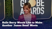 Halle Berry Would Make Another 'James Bond' Movie!
