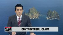 Japan releases controversial document claiming South Korean islet as its own