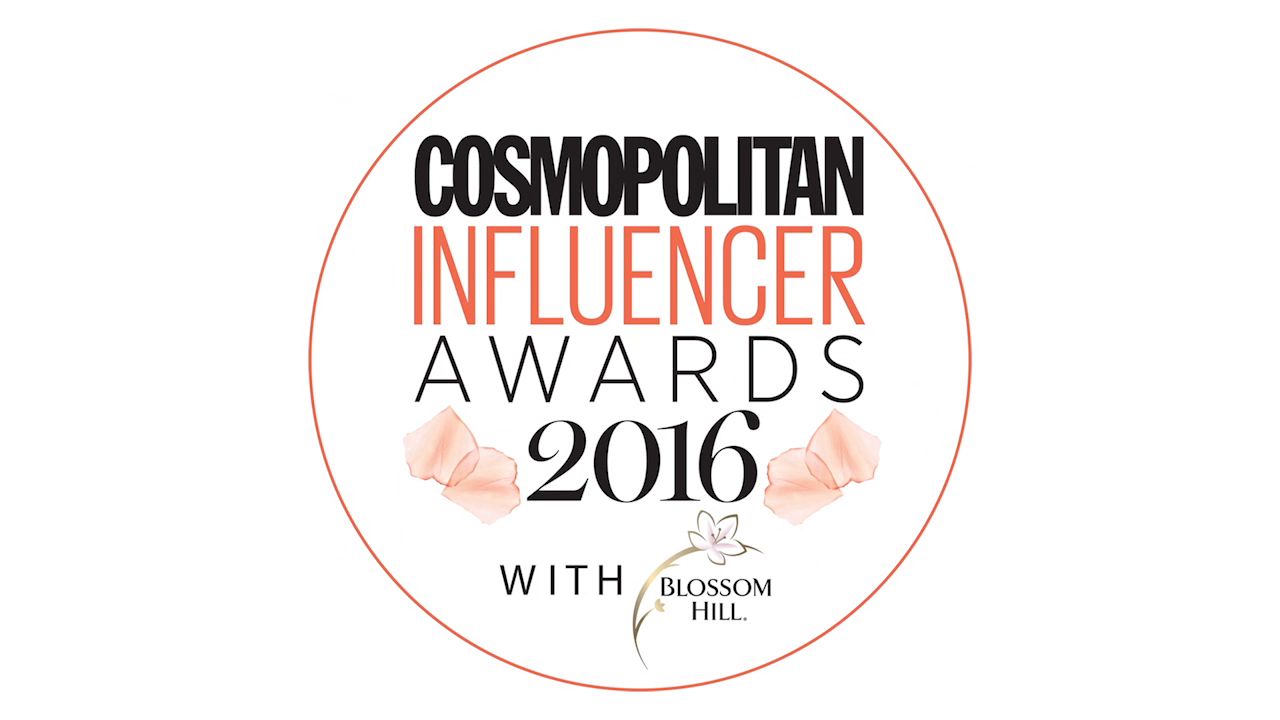 Cosmopolitan Influencer Awards 2016