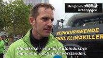 Greenpeace macht auf der IAA gegen SUVs mobil